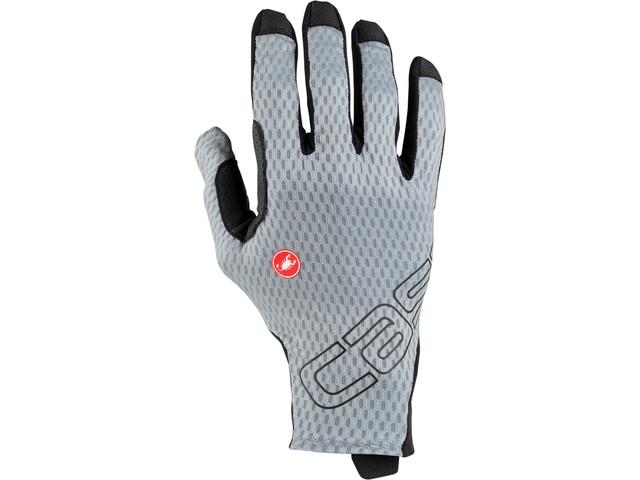 Castelli Unlimited Long-Finger Gloves vortex gray
